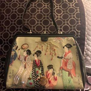Isabella Fiore purse leather